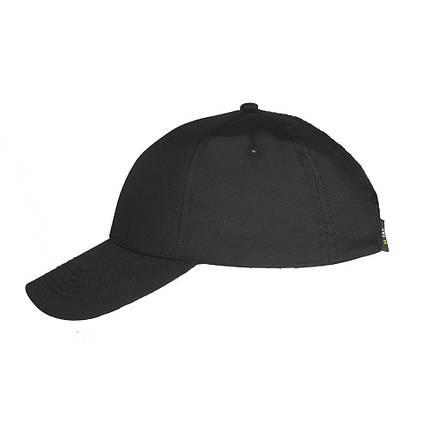 Бейсболка Elite Flex чёрная в рип-стопе , фото 2