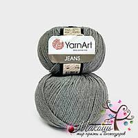 Пряжа Джинс Jeans YarnArt, №46, серый