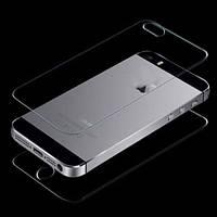 Комплект противоударных стекол iPhone 5/5s на экран и заднюю крышку
