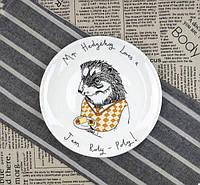 Тарелка подарочная с рисунком Сладкоежка