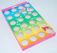 Набор декор бульон для дизайна ногтей YRE NDBH-00, кол-во 24 шт, золото, Бульоны, Бульонка, Дизайн, Материалы для дизайна ногтей