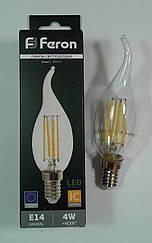 Светодиодная лампа (LED Filament) Feron LB-59 E14 4W 4000К