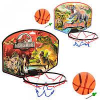 Баскетбольное кольцо M 2988 Jurassic World щит-картон