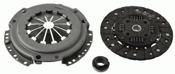 Нажимной диск сцепления Citroen Jumpy / Scudo¬ / Expert1.9D 95-/Corolla1.9D-00-02 SASSONE 8167ST-Италия, фото 2