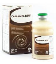 Севаксель RTU (цефтиофур 50 мг) 100 мл антибиотик для крупного рогатого скота и свиней