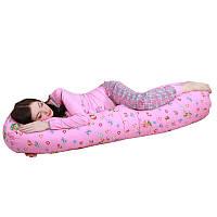 Подушка для беременных с холлофайбера I-образная 150см