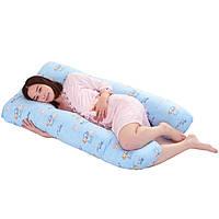 Подушка для беременных с холлофайбера U-образная (П-образная) 120см