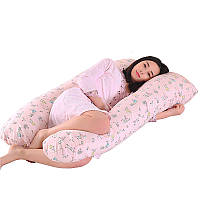 Подушка для беременных с холлофайбера U-образная (П-образная) 150см