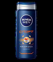 """Гель для душу чоловічої Nivea """"Спорт"""" (500мл.)"""
