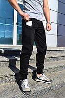 """Мужские брюки """"BRONSON""""  Черные"""