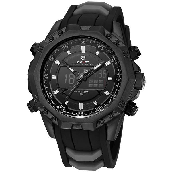 Мужские часы Weide Neptun Black