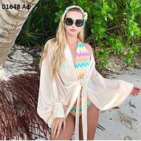 Пляжная блуза 01648 Аф, фото 1