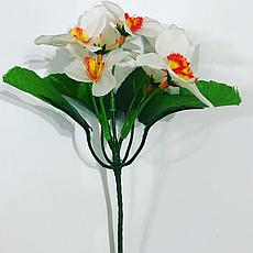 Искусственный букет нарциссов.Нарцисс заливка., фото 3