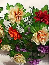 Искусственные цветы.Букет искусственный,ритуальный., фото 3