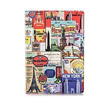 """Обложка для паспорта """"Столицы"""" / дизайнерская обложка на паспорт / эксклюзивная обложка на паспорт"""