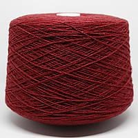 Пряжа Kent, бордовый тёмный (100% меринос; 900 м/100 г)