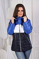 Женская куртка весна-осень в наличии от 42 до 50р (4 расцв)