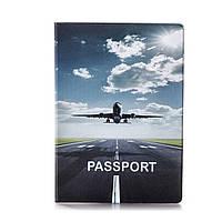 """Обложка для паспорта """"Самолет"""" / дизайнерская обложка для паспорта / эксклюзивная обложка на паспорт"""