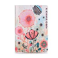 """Обложка для паспорта """"Цветы маки"""" / дизайнерская обложка для паспорта / эксклюзивная обложка на паспорт"""