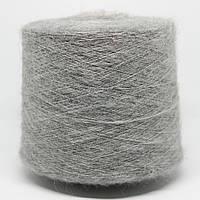 Пряжа Astro, серый (70% супер кид мохер, 30% нейлон; 1000 м/100 г)