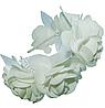 Венок белоснежный с розами