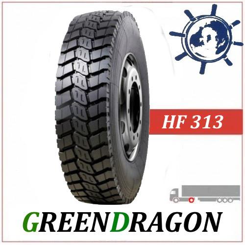Green Dragon HF313 ведуча шина 10.00R20 (280R508) 149/146K, усиленные грузовые шины, Китайские шины на Камаз
