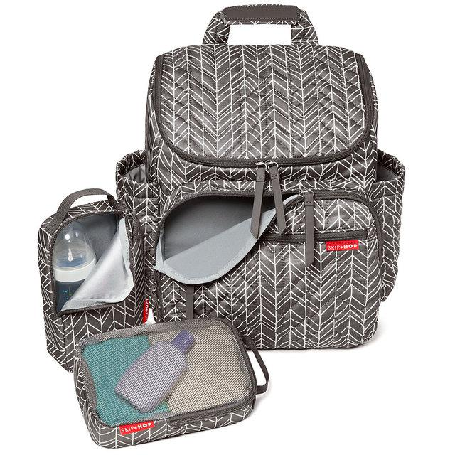 Рюкзак для мам Skip Hop Forma Grey Feather
