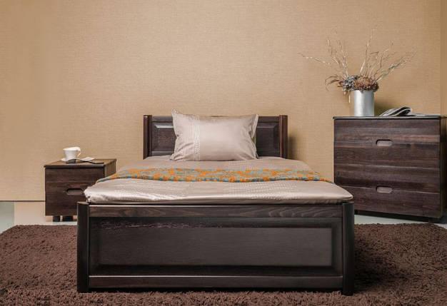 Кровать полуторная Марго с изножьем, фото 2