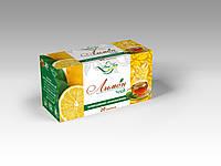 Чай черный с ароматом Лимон