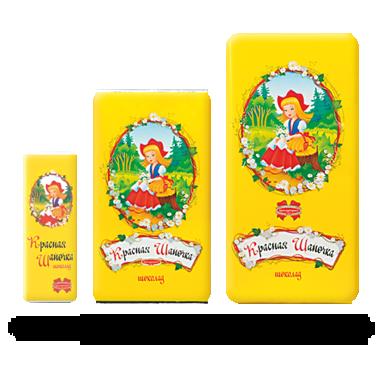 Молочный шоколад Красная Шапочка из Беларуси , фото 2