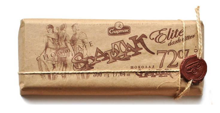 Горький элитный шоколад 500г Спартак 72% какао (Беларусь), фото 2