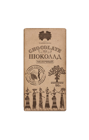 Шоколад Коммунарка молочный, 33%, 90г