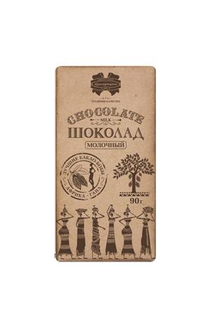 Шоколад Коммунарка молочный, 33%, 90г, фото 2