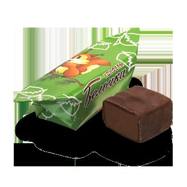 """Белорусские шоколадные  конфеты """"Белочка"""""""