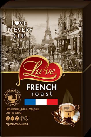 Кофе натуральный жареный молотый Lu've French Roast  250г (вакуум), фото 2