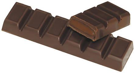 Шоколадний батончик темний з помадно-шоколадною начинкою 47г Спартак, фото 2