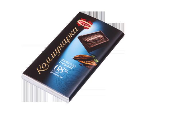 Шоколад горький Коммунарка 68% 50гр, фото 2