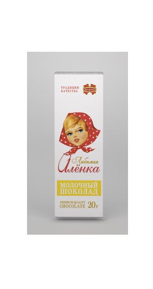 Белорусский шоколад Любимая Аленка 20г