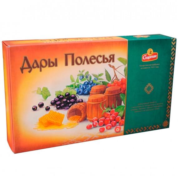 """Подарочный набор конфет Спартак """"Дары Полесья"""" 282гр"""