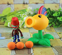 Растения против зомби   Plants vs Zombies Игровой набор №41 (Растения стреляют шариками в зомби,есть 40+видов)