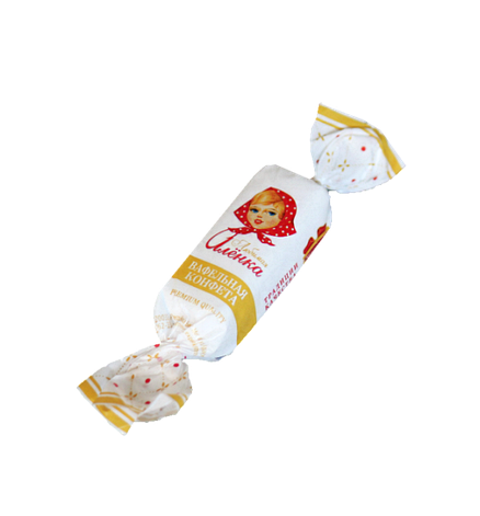 ЛЮБИМАЯ АЛЁНКА вафельная конфета от Коммунарки, фото 2