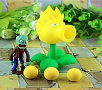 Растения против зомби | Plants vs Zombies Игровой набор №31 Огненный Горохострел (Растения стреляют шариками)