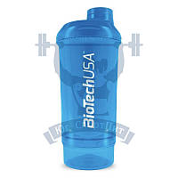 BioTech Shaker Wave + 2 in 1 шейкер для спортивного питания тренировок