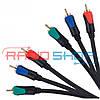 Кабель 3RCA-3RCA 3 м Cabletech Basic Edition