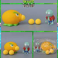 Растения против зомби   Plants vs Zombies Игровой набор №22 Цитрон Динька (Растения стреляют шариками )