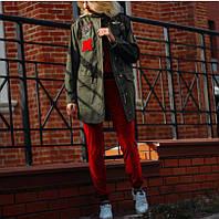 Женская куртка парка MILITARY