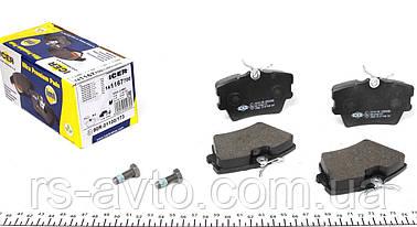 Колодки тормозные (задние) Volkswagen T4, Фольксваген T41.9, 2.5D, TDI 96- (Lucas - Girling) 141167-700