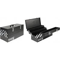 Ящик для инструмента YATO YT-0885 металлический 460х200х225мм