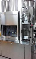 Моноблок для розлива в стеклянную бутылку, полуавтоматический, Ferrero, Италия