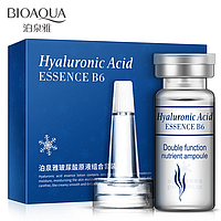 Эссенция  гиалуроновая кислота набор Bioaqua Hyaluronic acid essence B6 (10 ампул*5 мл)